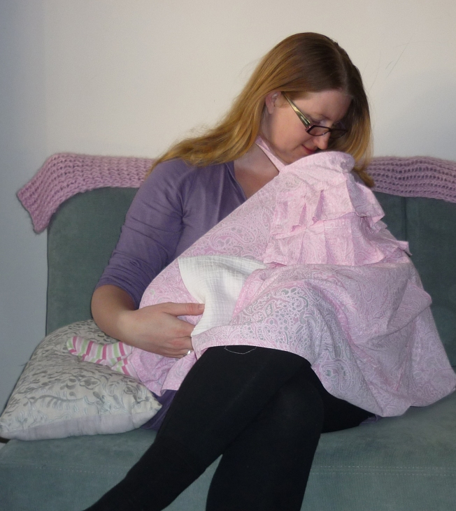 Using DIY Nursing Cover